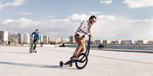 Halfbike II— велосипед без седла