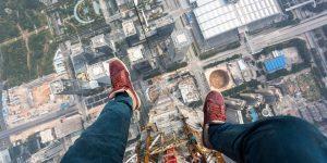 «On the roofs» покорили самую высокую стройку в мире
