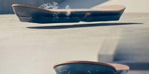 Lexus показала летающий скейтборд