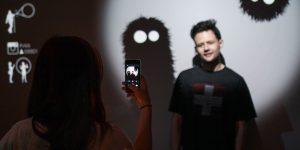 ВЛЕС— интерактивная световая инсталляция
