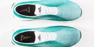Новые кроссовки от Adidas сделаны из мусора