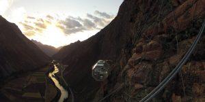 Отель на высоте 120 метров в Перу