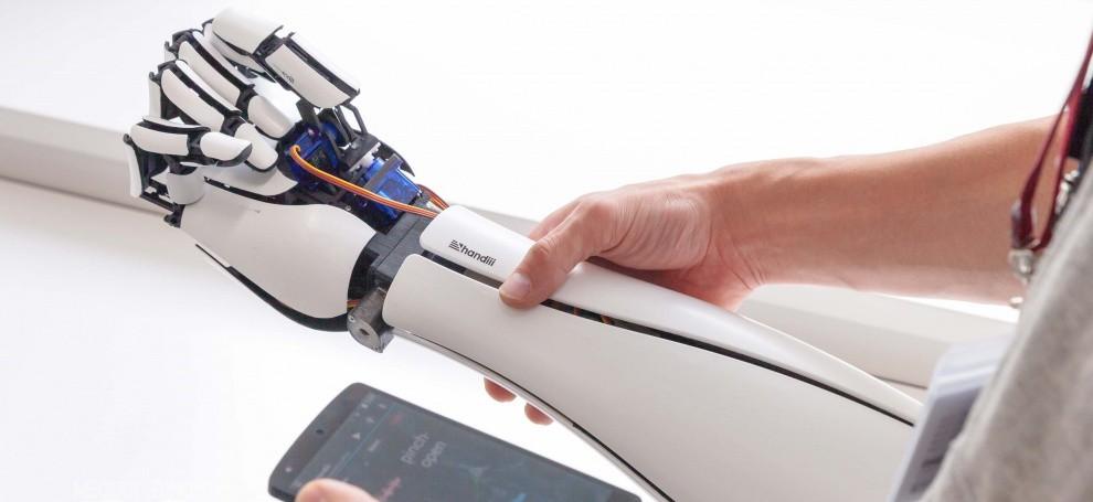 Limber Bionic Arm 1