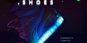 Blinky.Shoes— разноцветная LED-лента для обуви