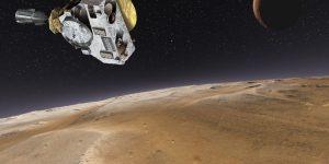 Видео полета зонда New Horizons над Плутоном