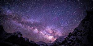 Млечный путь над Йеллоустонским парком (фото)