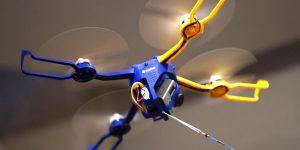 Fotokite Phi. Квадрокоптер с поводком
