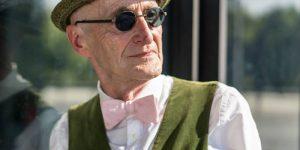 104-летний хипстер с безупречным стилем