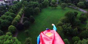 Супермен + дрон = идеальная команда