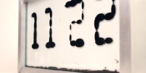 Ferrolic— часы с «текущим» временем