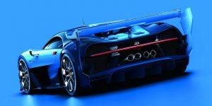Bugatti Vision Gran Turismo (виртуальный дизайн концепта)