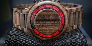 Деревянные смарт-часы для любителей эко-материалов и современных технологий