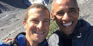 Барак Обама в шоу «Одичавшие с Беаром Гриллсом»