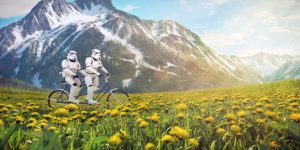 Герои «Звездных воин» на отдыхе