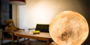 Атмосферный амбиент светильник Luna