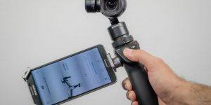 DJI Osmo— компактная 4K-камера со стабилизацией видео