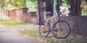Деревянный велосипед от Niko Schmutz