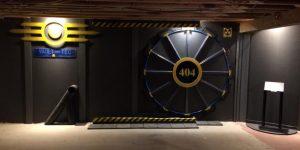 Дверь в игровую комнату по мотивам Fallout