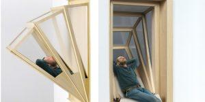Раскладной балкон от аргентинского архитектора