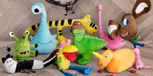Мягкие игрушки по детским рисункам от IKEA
