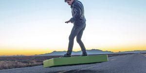 ArcaBoard— ещё один работающий аналог летающей доски из фильма «Назад в будущее»