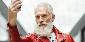 Модный Санта