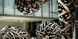 Lee Jae Hyo и его скульптуры из древесины, гвоздей и камня