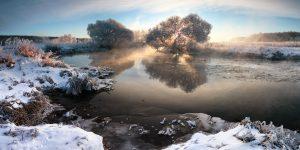 Зима на фотографиях Алексея Угальникова