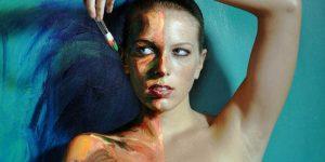 Алекса Мид и её «Живые холсты»
