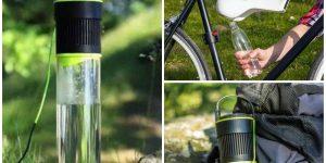 Бутылка для получения воды из воздуха