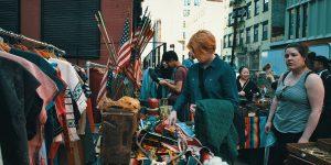 Блошиный рынок в Бруклине