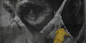Мурал от австралийского художника к 30-ой годовщине Чернобыльской катастрофы