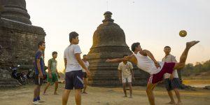 Чинлон— потрясающий футбол из Мьянмы