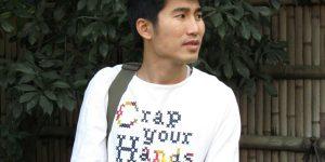 Ты— то, что ты носишь. Веселые английские надписи на одежде азиатов