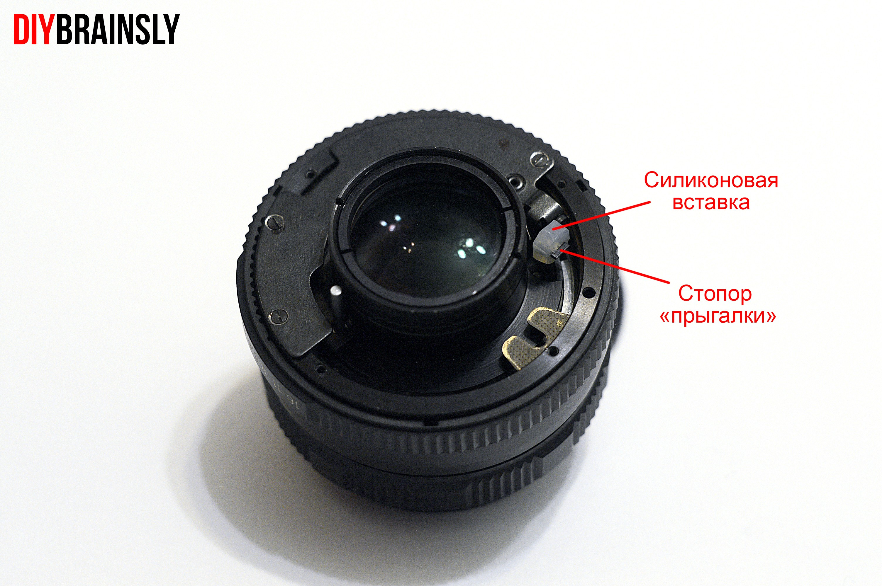 Гелиос 77м-4 на Nikon 2