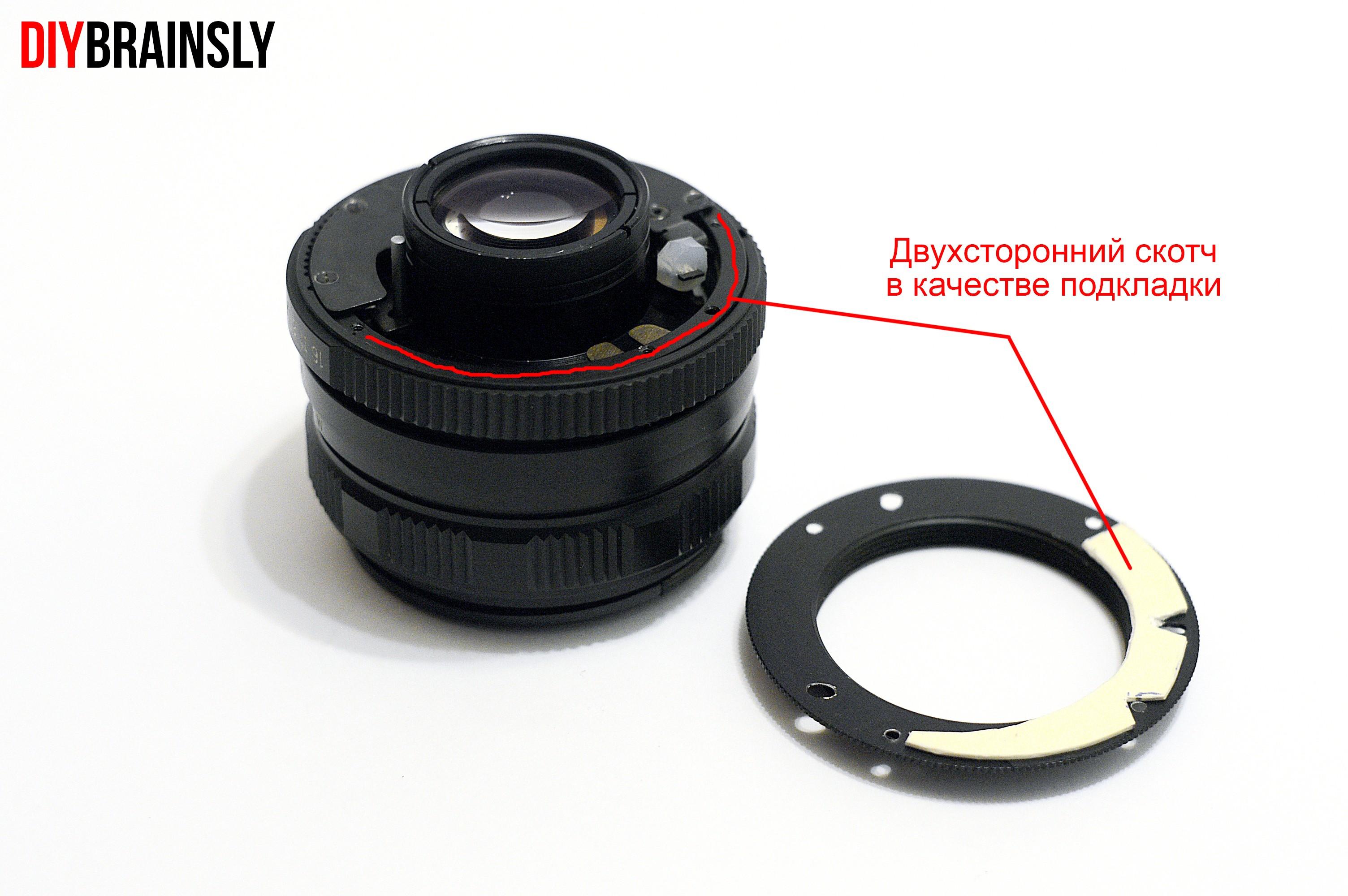 Гелиос 77м-4 на Nikon 7