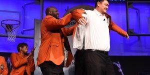 Яо, Шак и Ответ— новые члены Зала славы НБА