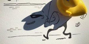 Тушь и тень в работах Винсента Баля