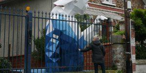 Уличные геометрические скульптуры от David Mesguich