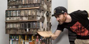 Миниатюрные макеты городских зданий от Джошуа Смита