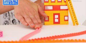 Липкая Lego-лента от Ани Кирстен и Макса Баслера