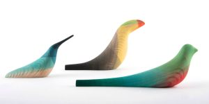 Элегантные деревянные птицы от Моисеса Эрнандеса