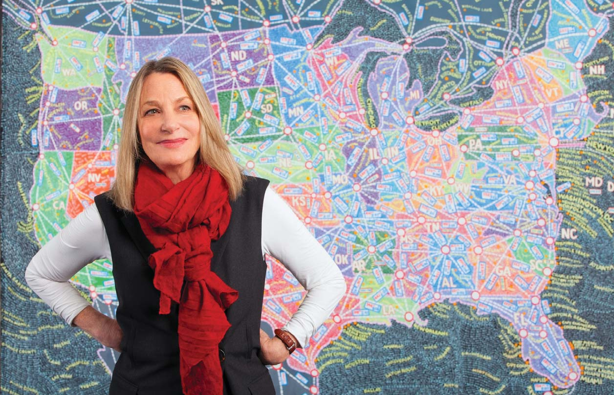 """the life and work of paula scher For four decades paula scher has been at the forefront of graphic design described as the """"master conjurer of the instantly familiar,"""" scher straddles the line between pop culture and fine art in her work."""