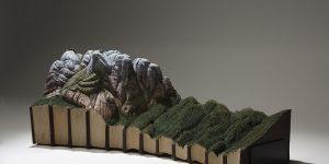 Великолепные ландшафты, вырезанные из книг, от Гая Лараме