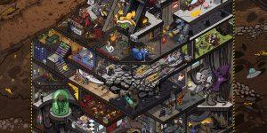 Киевский художник Егор Ключник нарисовал постер с более чем 140 персонажами из известных игр и фильмов