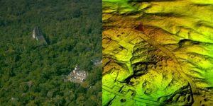 Обнаружено 60 тысяч построек майя