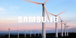 Samsung переходит на возобновляемую энергию
